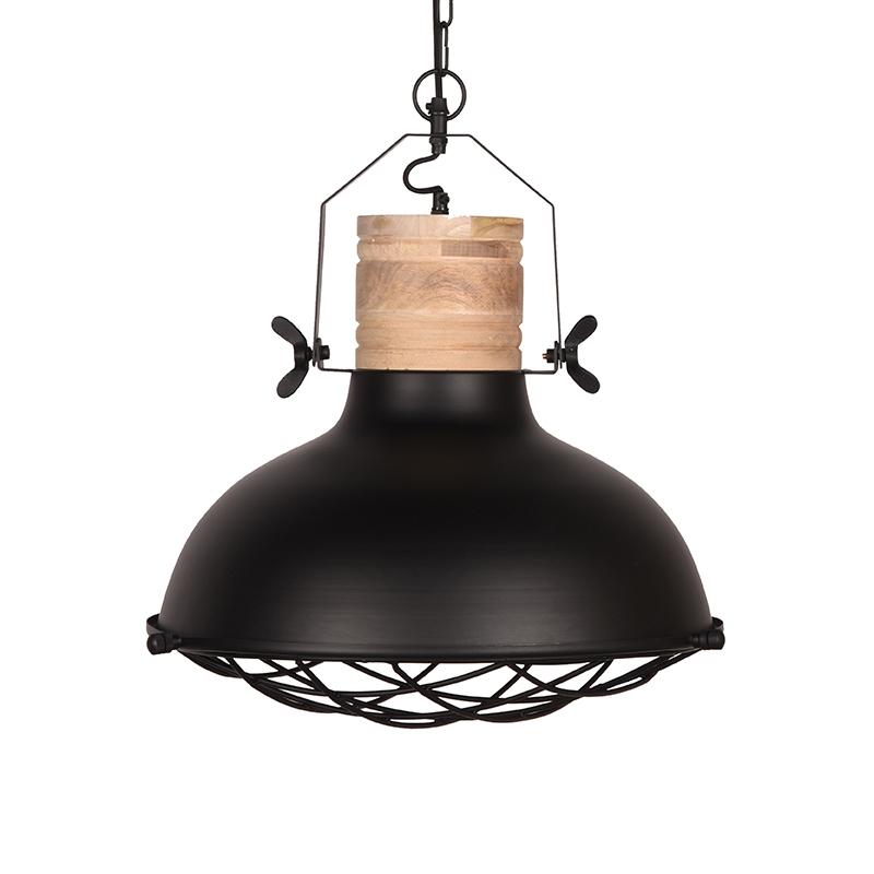 Hanglamp Grid - Zwart - Metaal