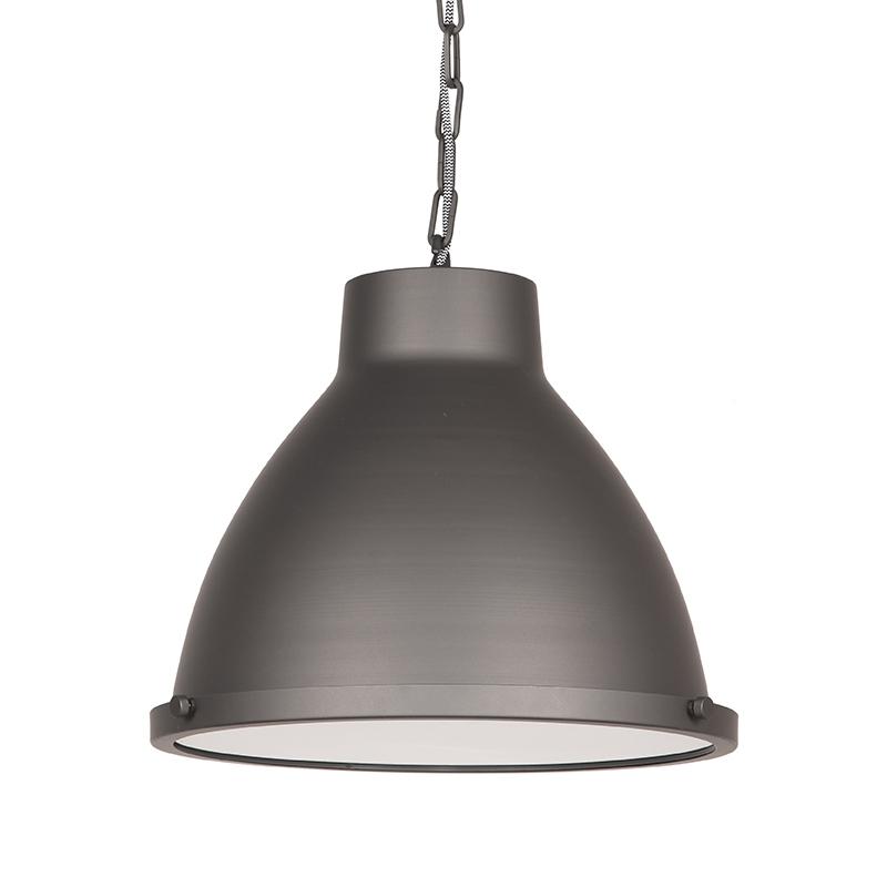 Hanglamp Industry - Burned Steel - Metaal