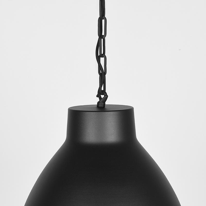 Hanglamp Industry - Zwart - Metaal