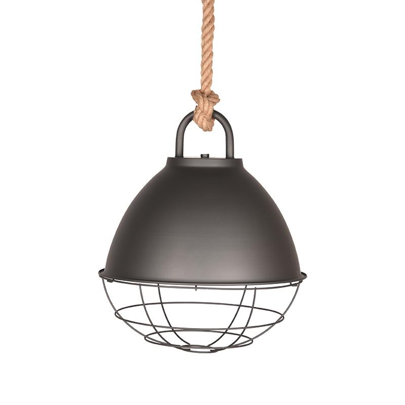 Hanglamp Korf - Burned Steel - Metaal - M