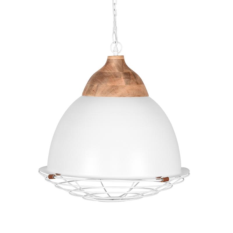 Hanglamp Rootz - Wit - Metaal