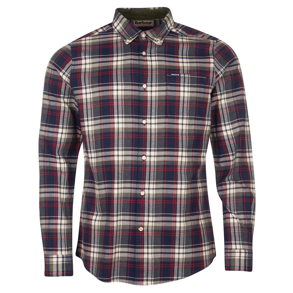 Heren blouse Crossfell tailored navy