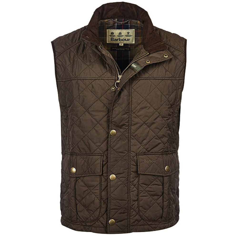 Heren bodywarmer Explorer Dark Olive