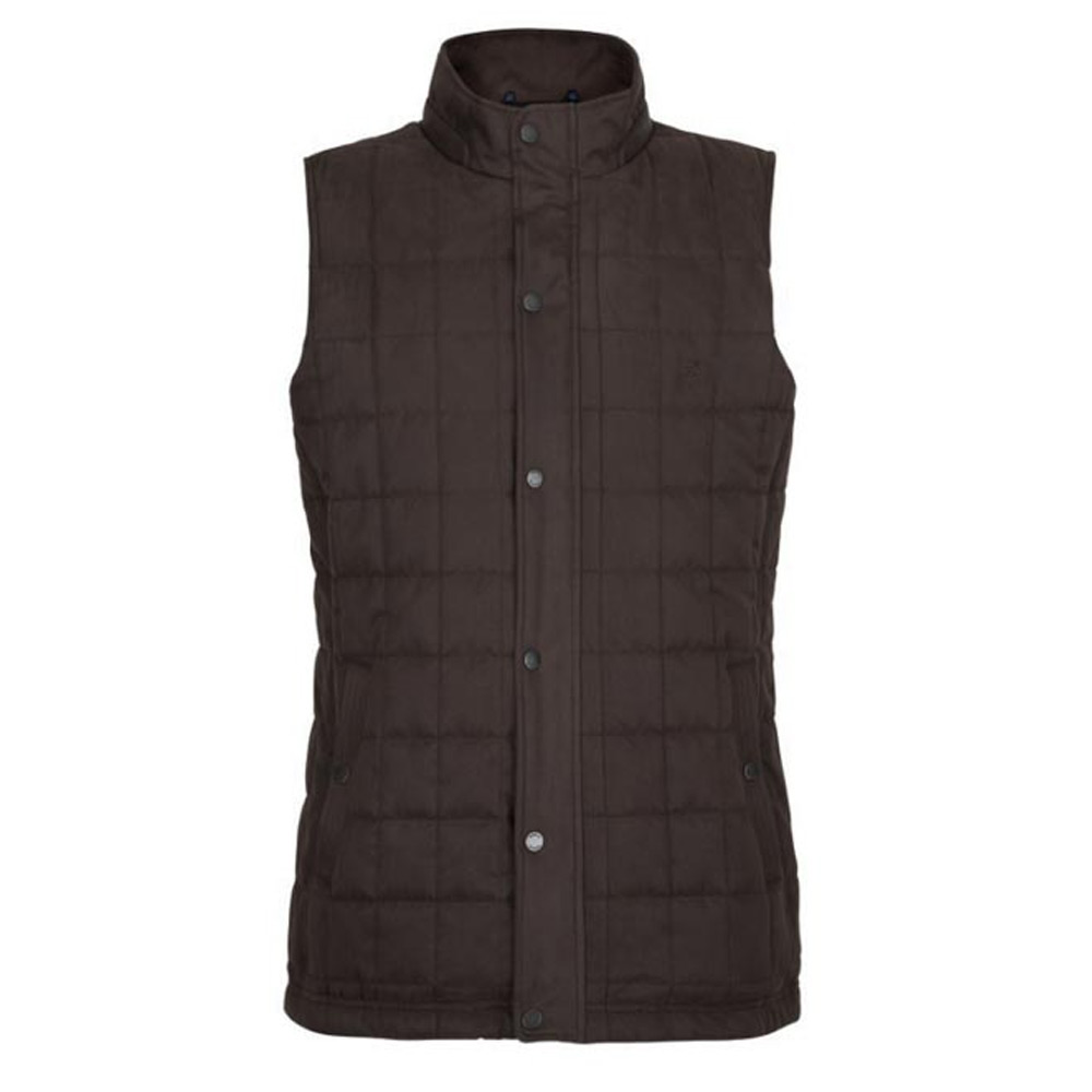 Heren bodywarmer Yeats Chestnut SALE