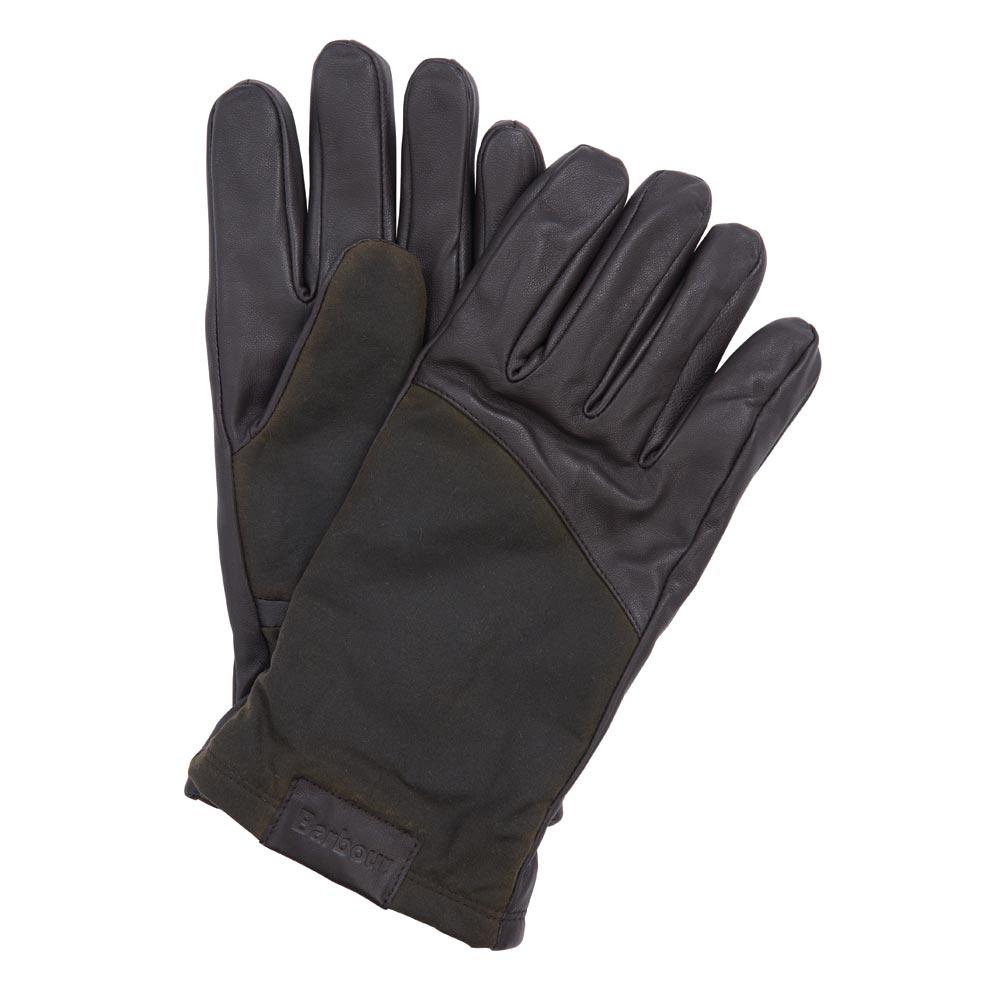 Heren handschoen hebden dark brown
