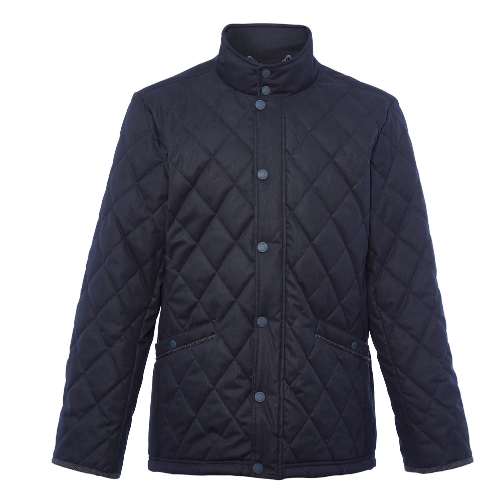 Heren quiltjas Bantry navy