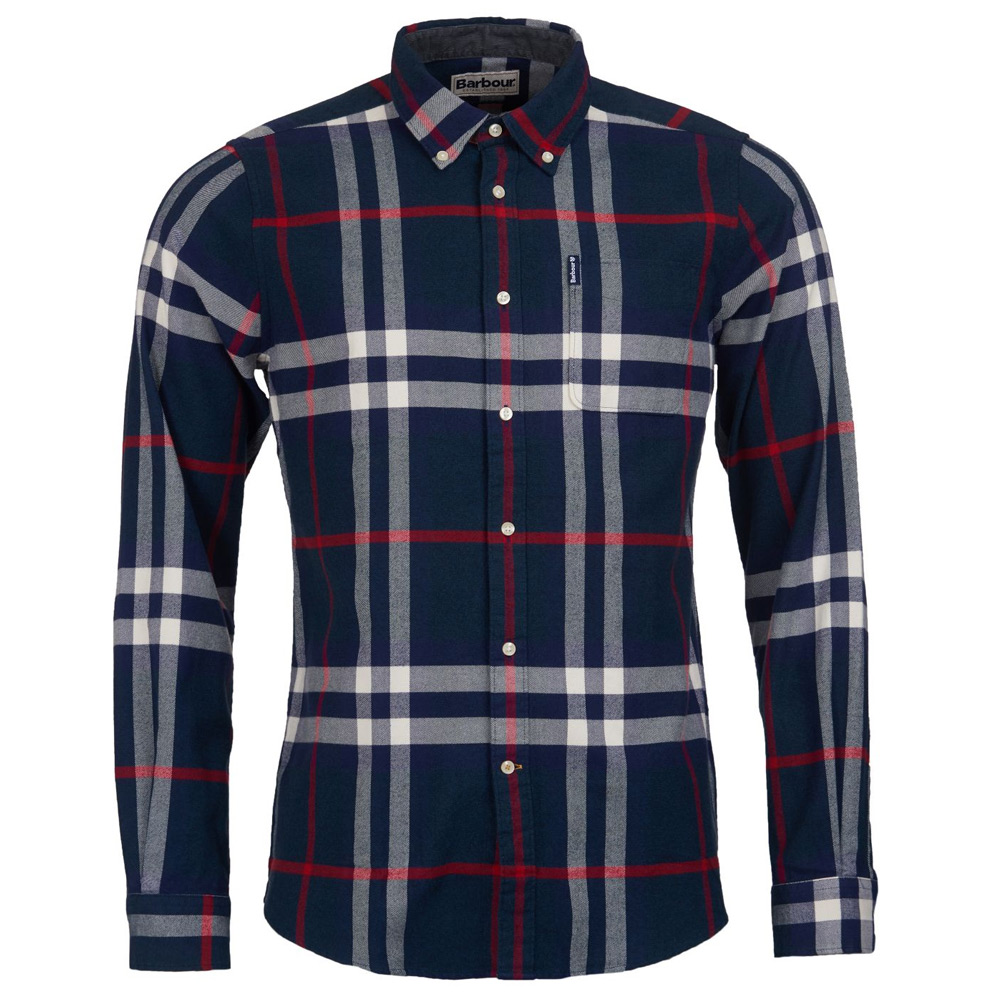 heren shirt highland check 18 tailored