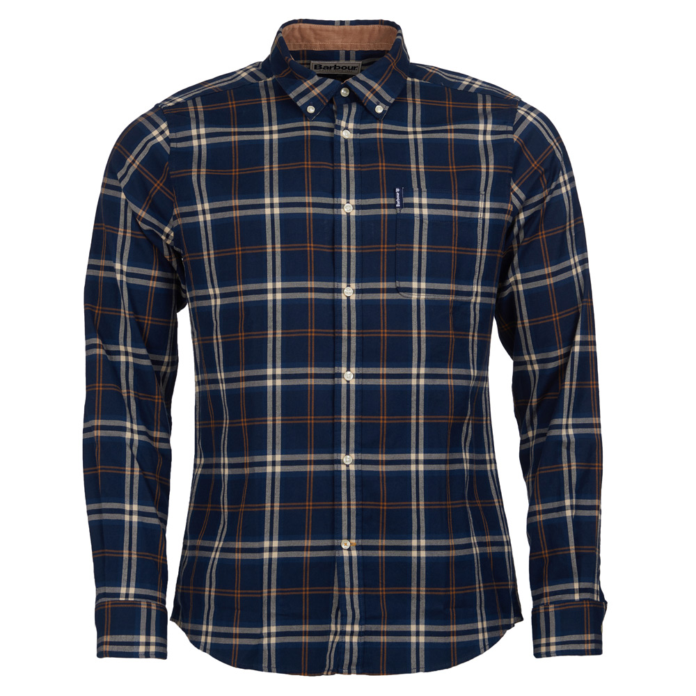 heren shirt highland check 20 tailored