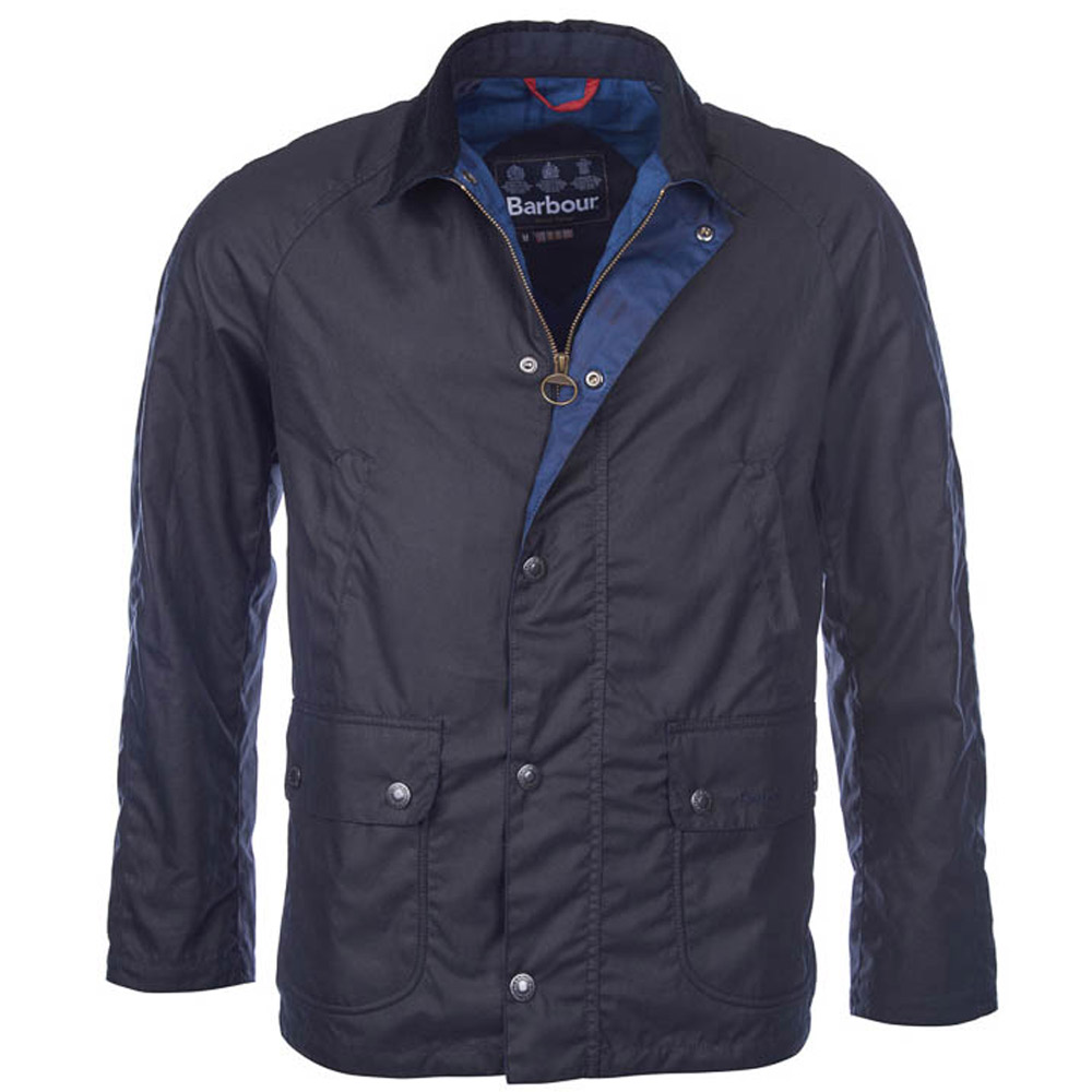 Heren waxjas Banavie Navy