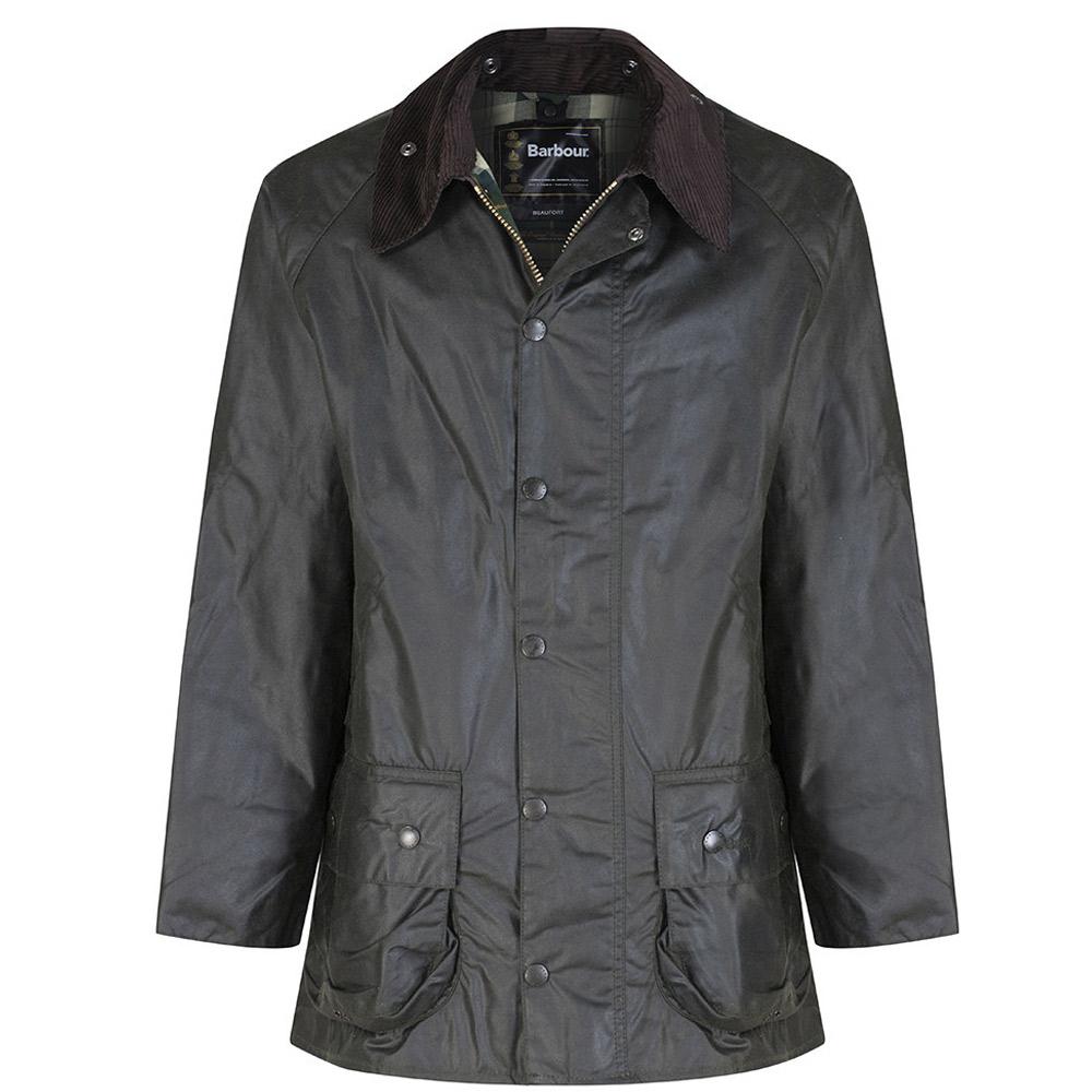 Heren waxjas Beaufort jacket Sage