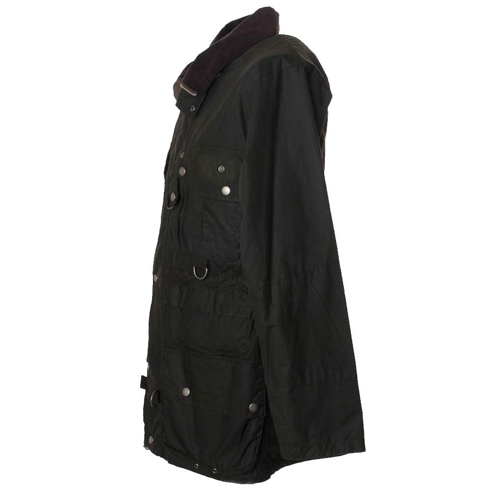 Heren waxjas Dryfly Jacket Olive