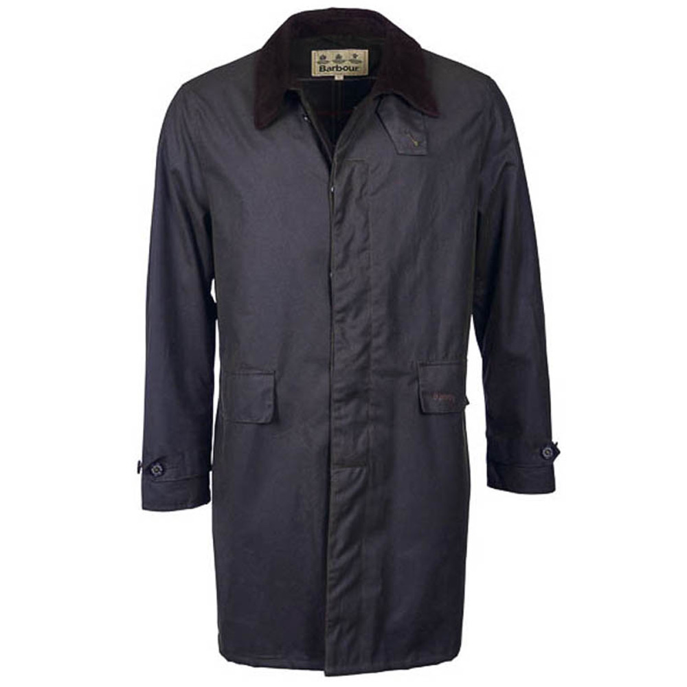 Herenjas Brambling Waxjacket Navy