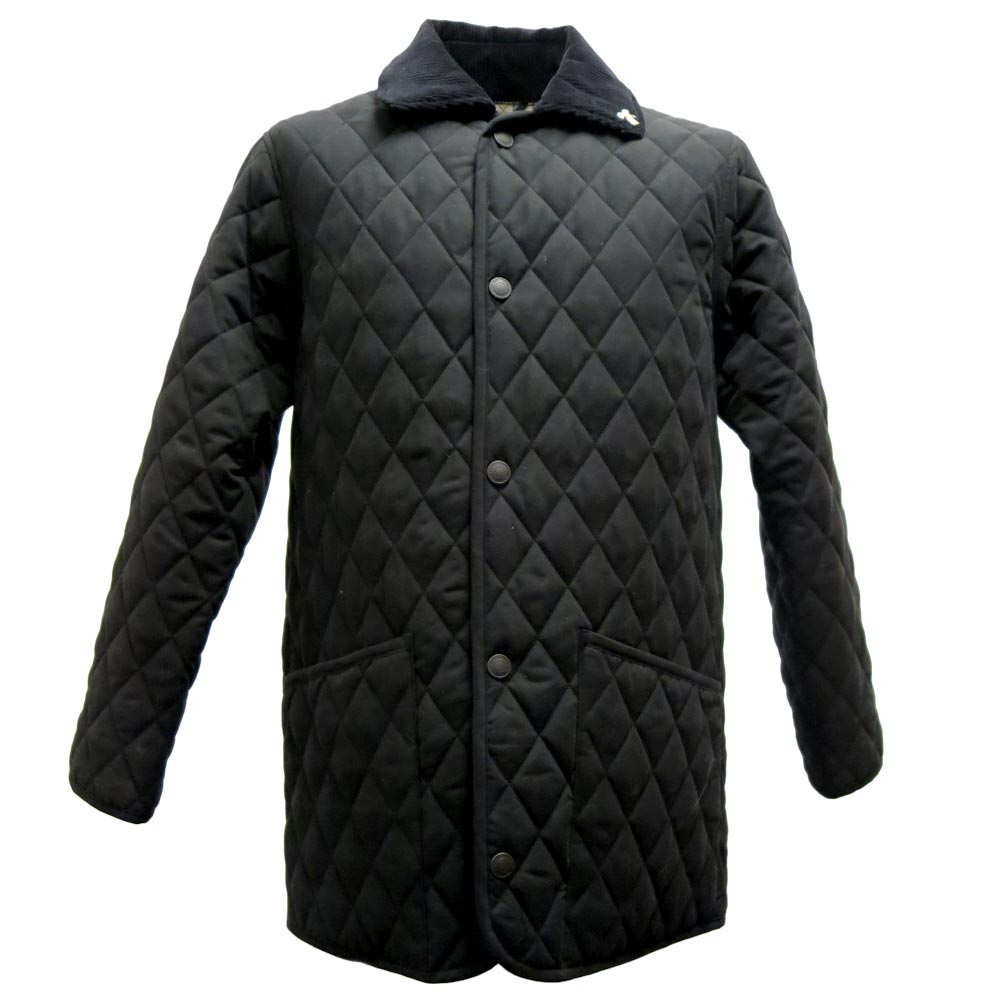 Herenjas Jacket Quilt Black