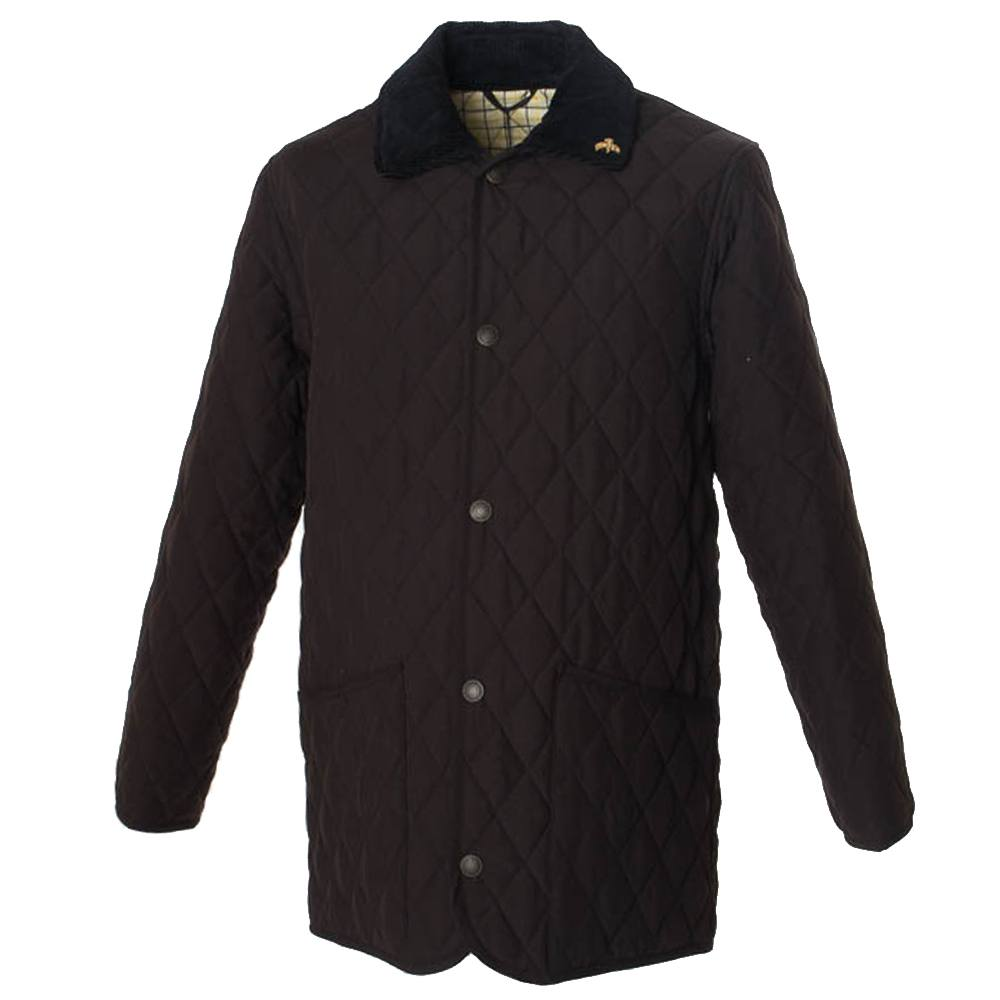 Herenjas Mens Kent Quilt black