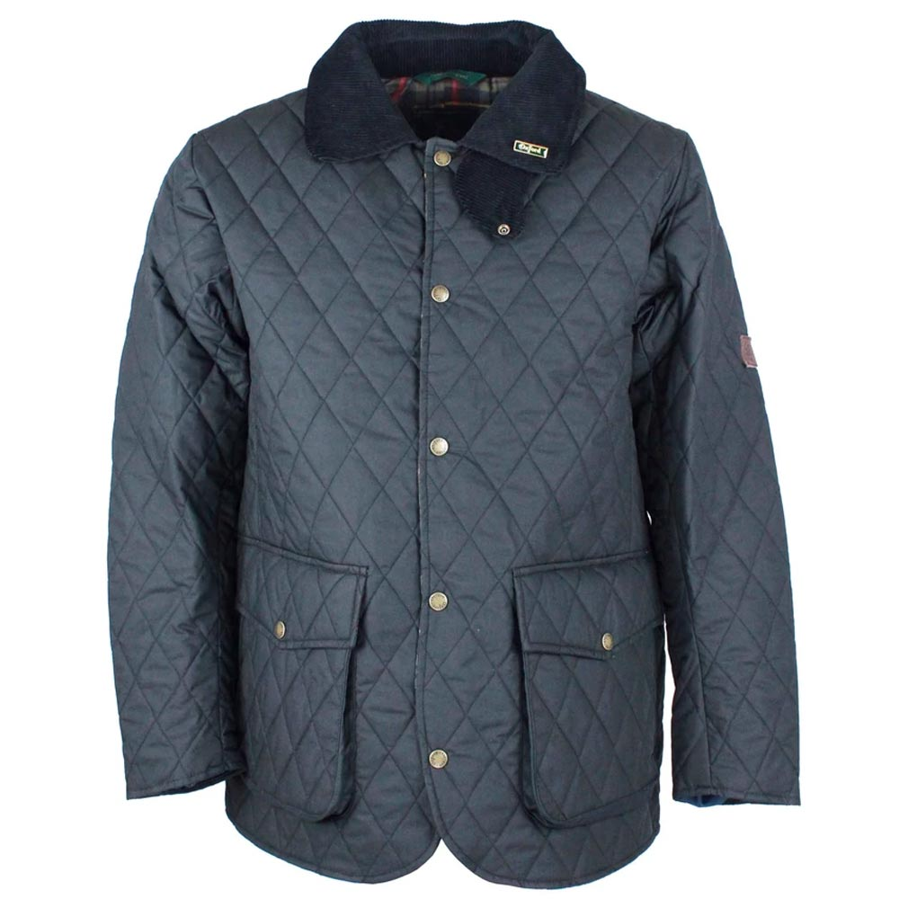 Herenjas Quilted wax jacket
