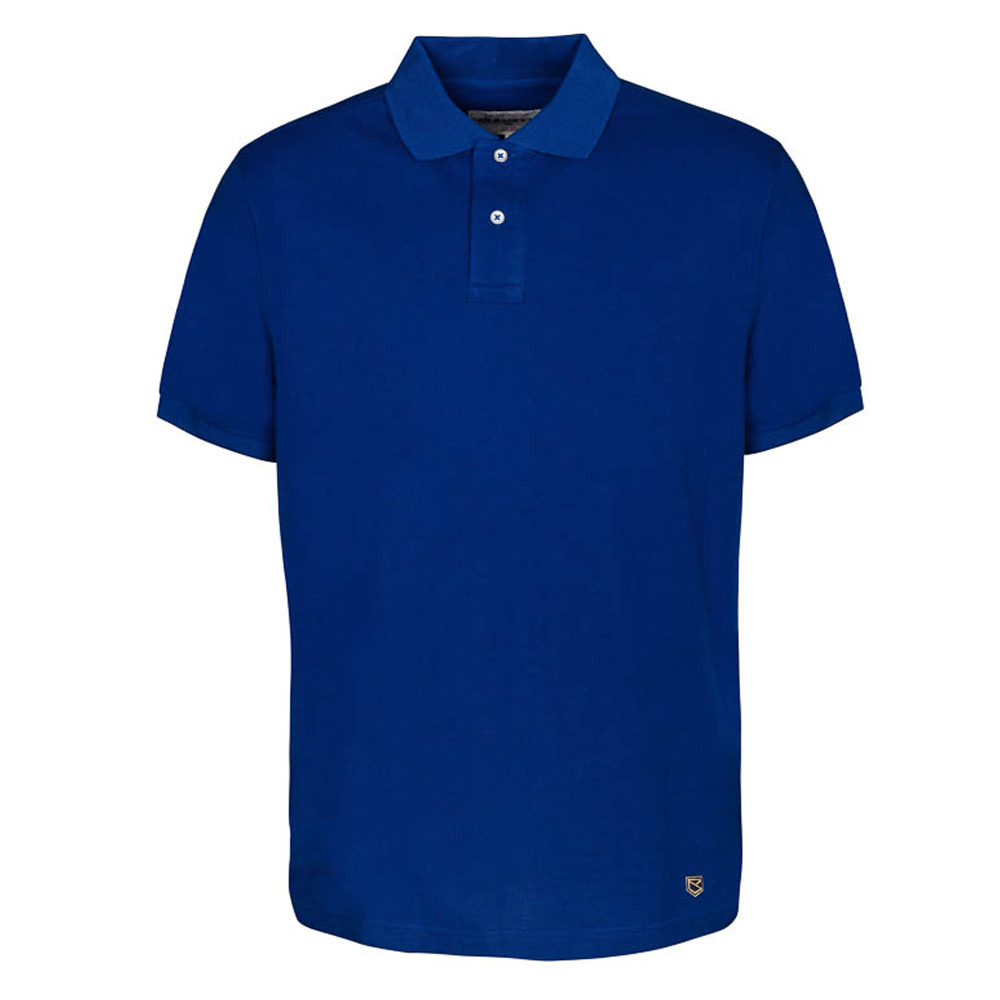 Herenpolo Banbridge Cobalt