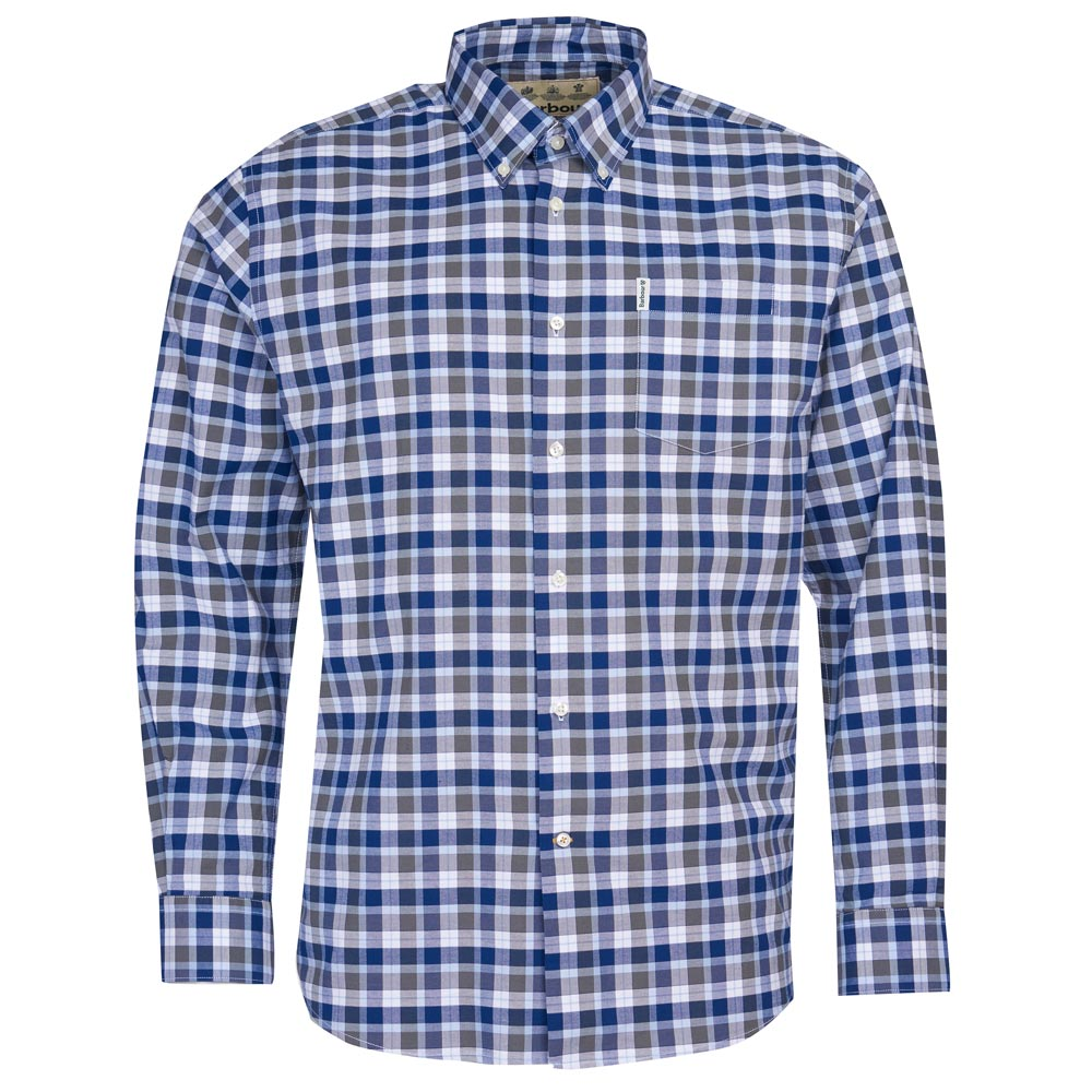 Herenshirt Country Check 15 regular fit Olive
