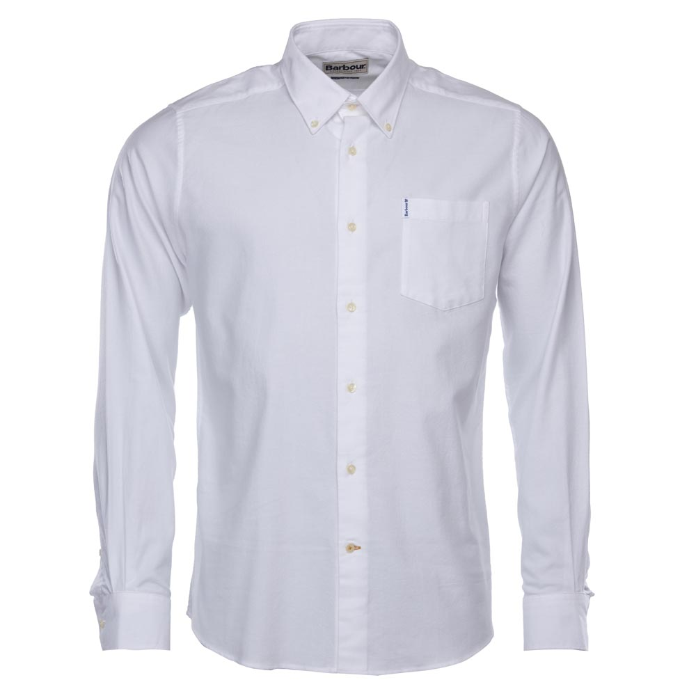 Herenshirt Oxford 1 tailored fit white