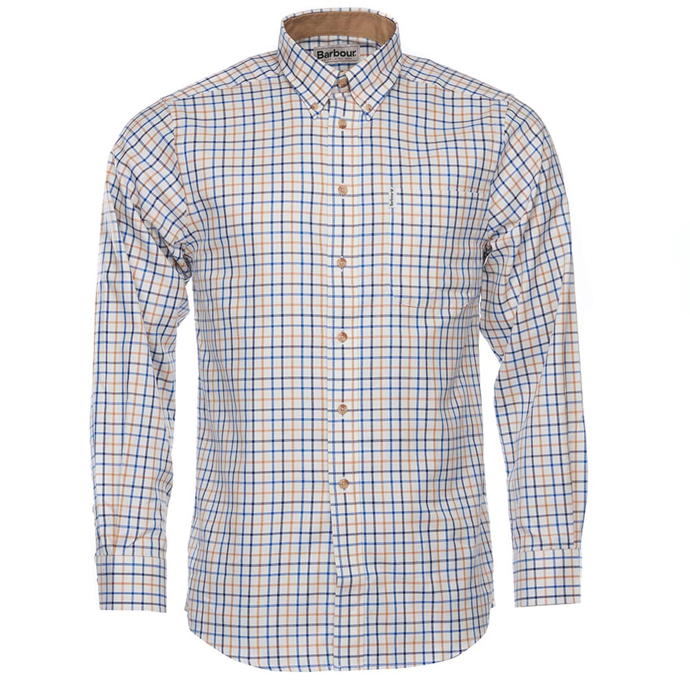 Herenshirt SP Tattersall Blue