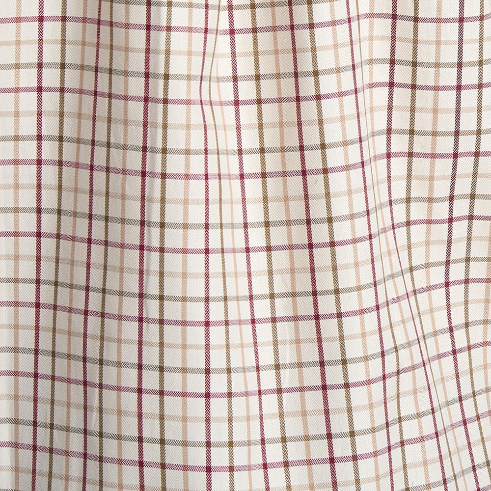 Herenshirt SP Tattersall Red/khaki