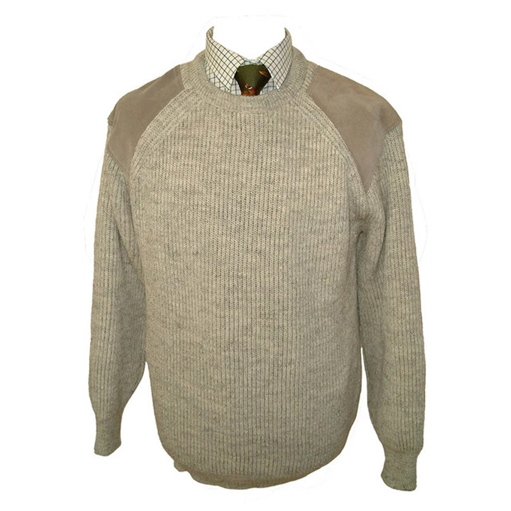 Herentrui Crew Neck Jumper Ecru