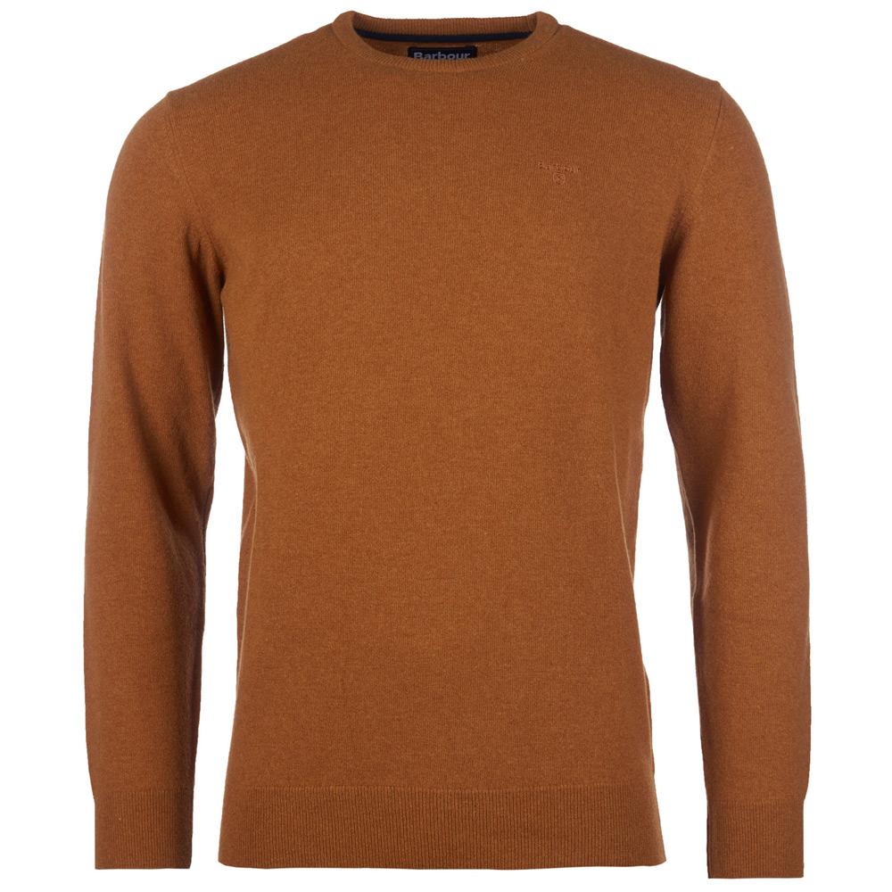Herentrui essential lambswool crew neck Copper