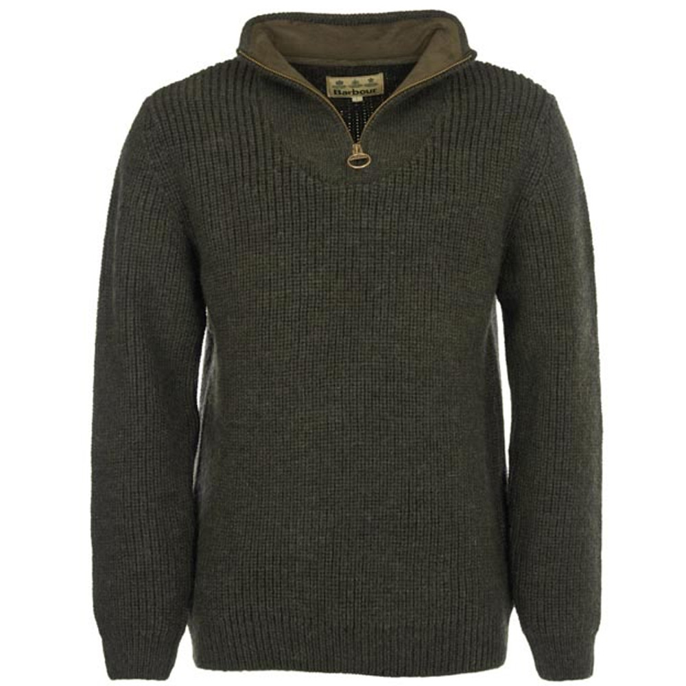 Herentrui New Tyne Half Zip Olive