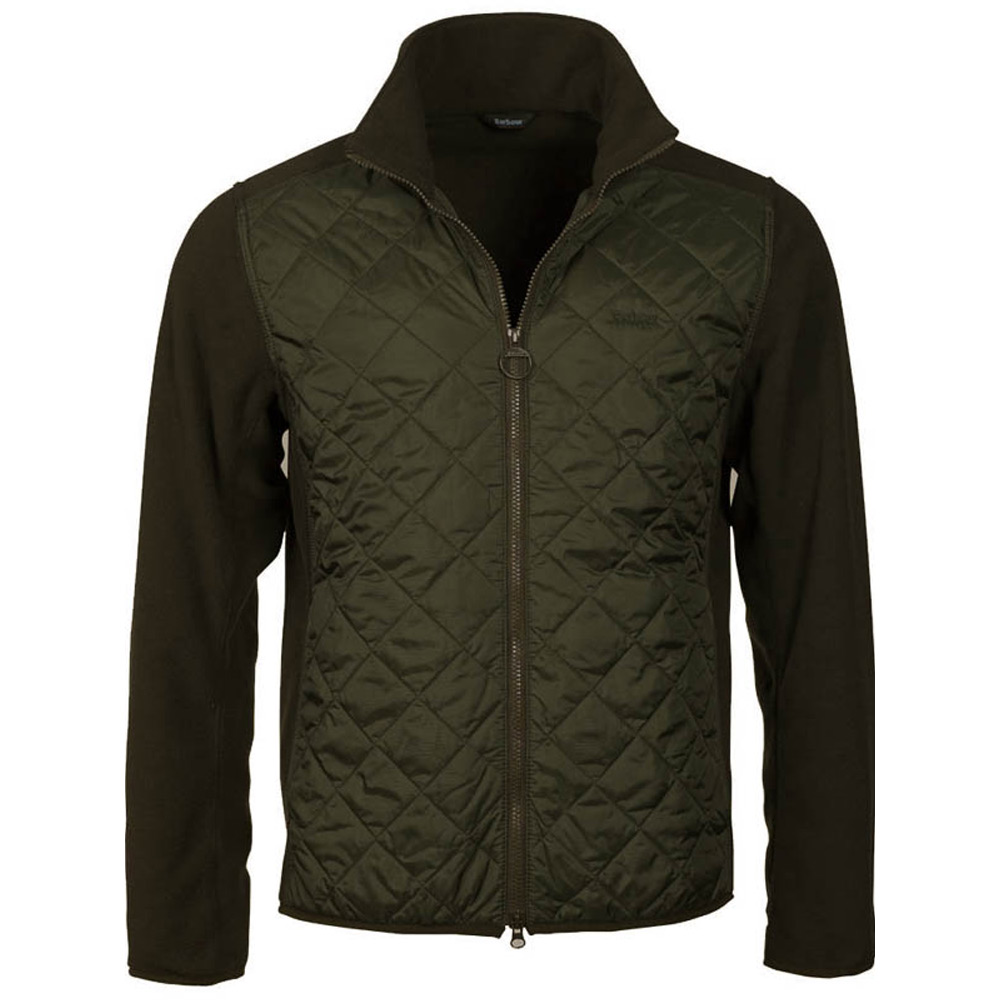 Herenvest Trefoil Fleece Olive