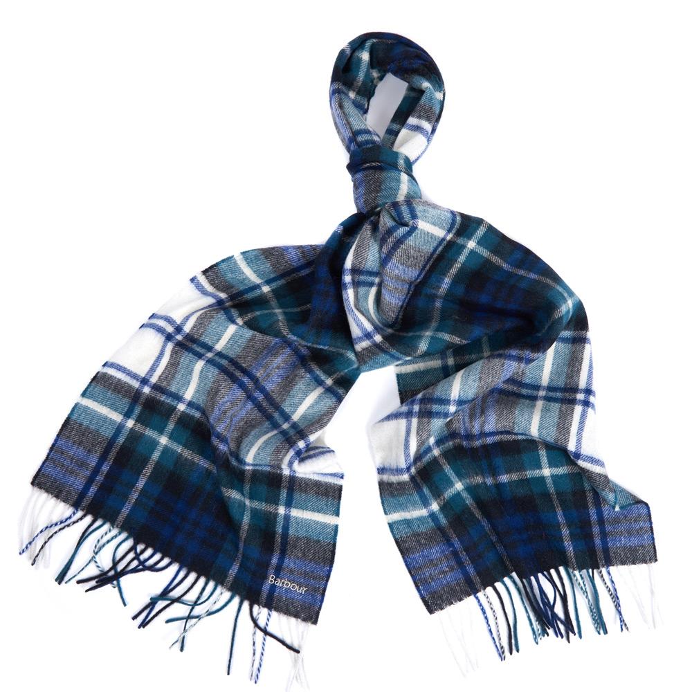 Icons tartan scarf bright