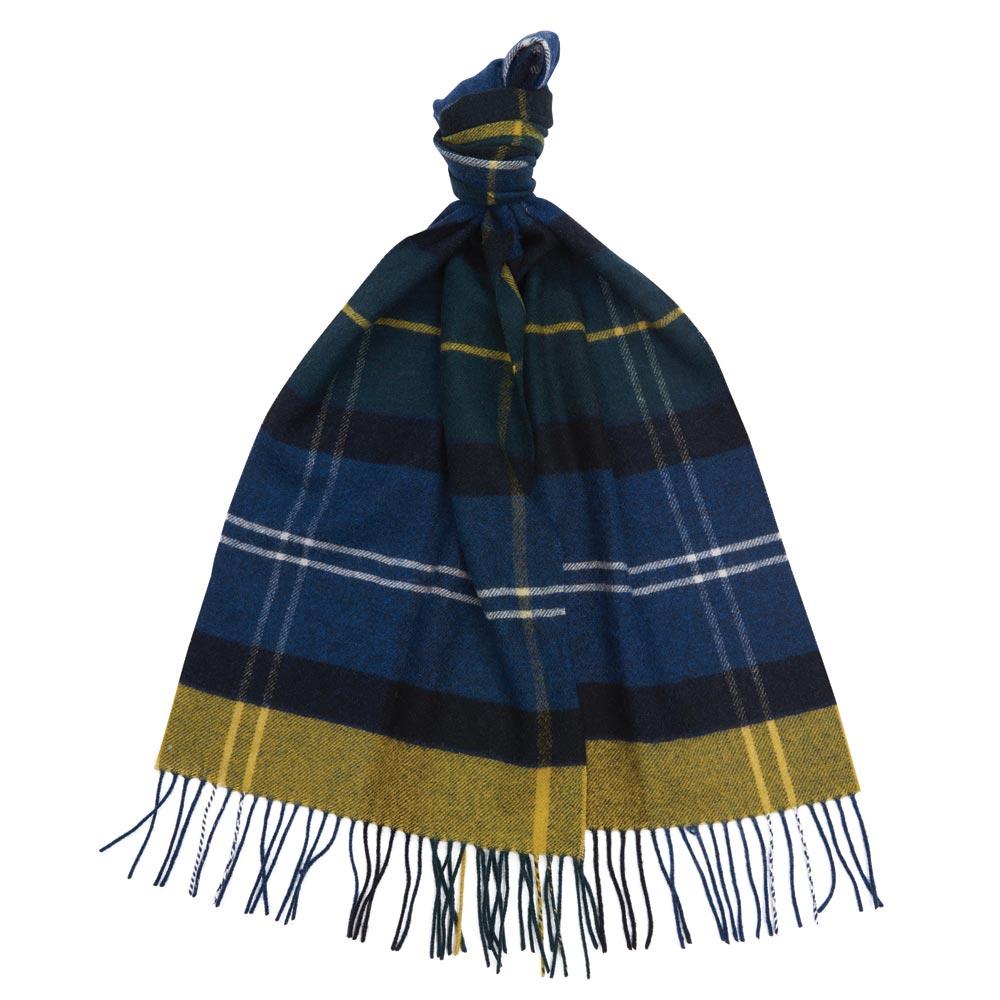 Inverness tartan scarf seaweed