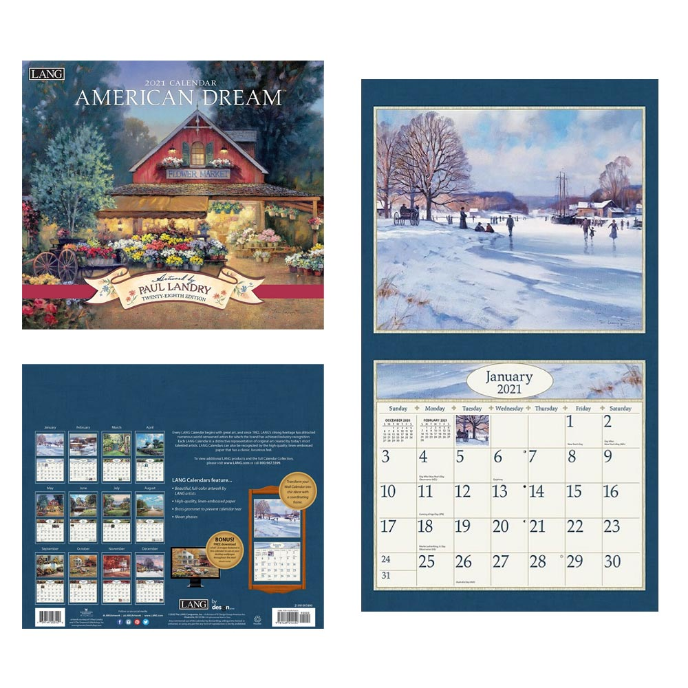 Kalender American Dream