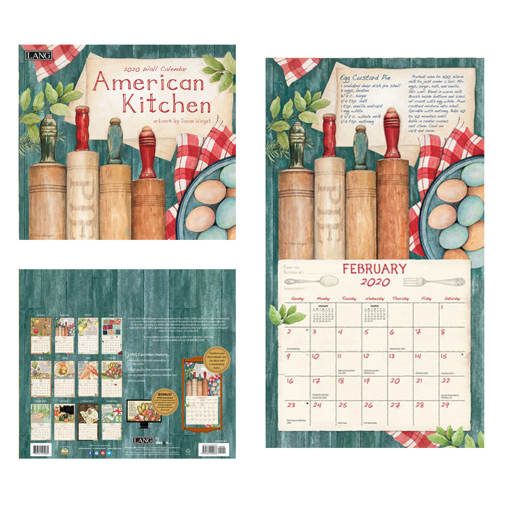 Kalender American Kitchen