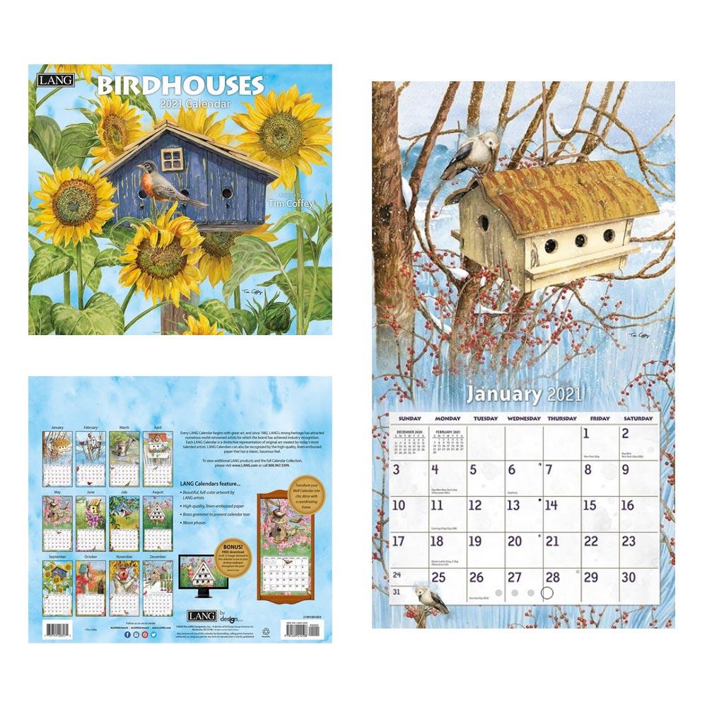 Kalender Birdhouses