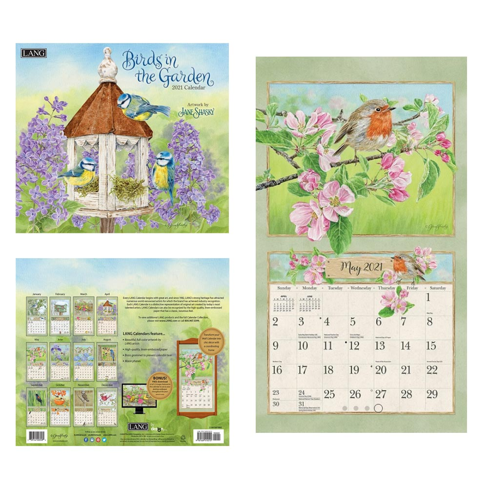 Kalender Birds In The Garden