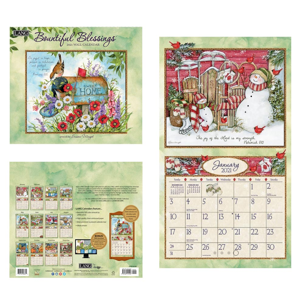 Kalender Bountiful Blessing