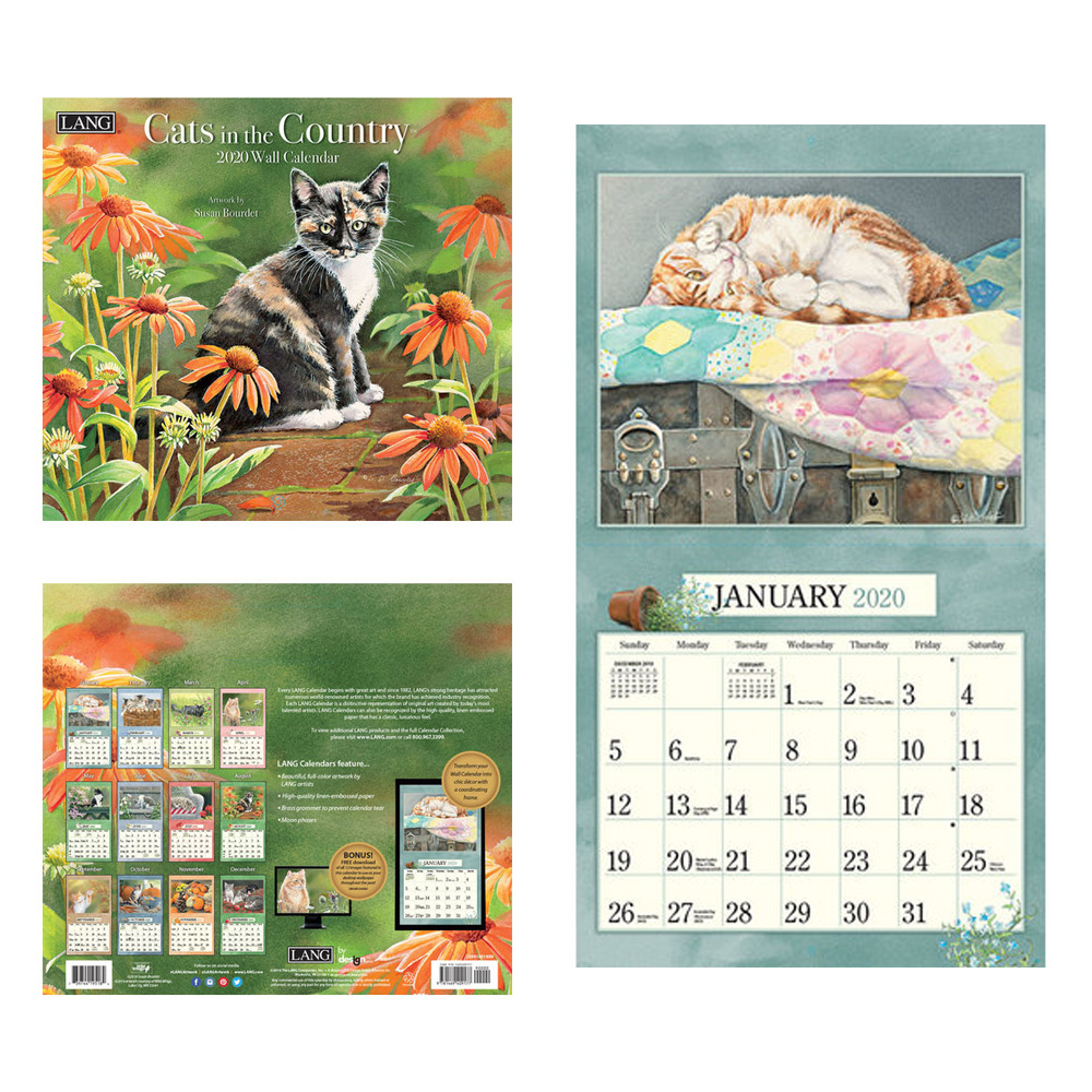 Kalender Cats In The Country
