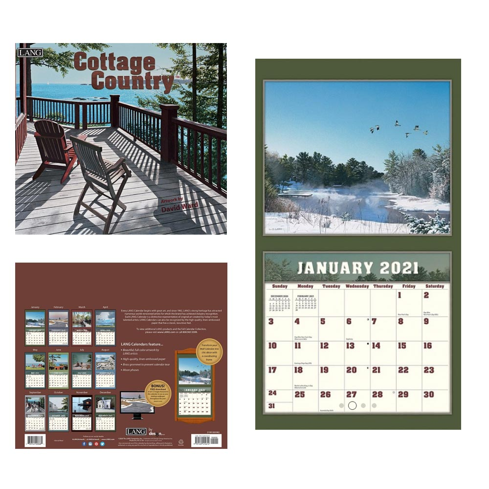 Kalender Cottage Country