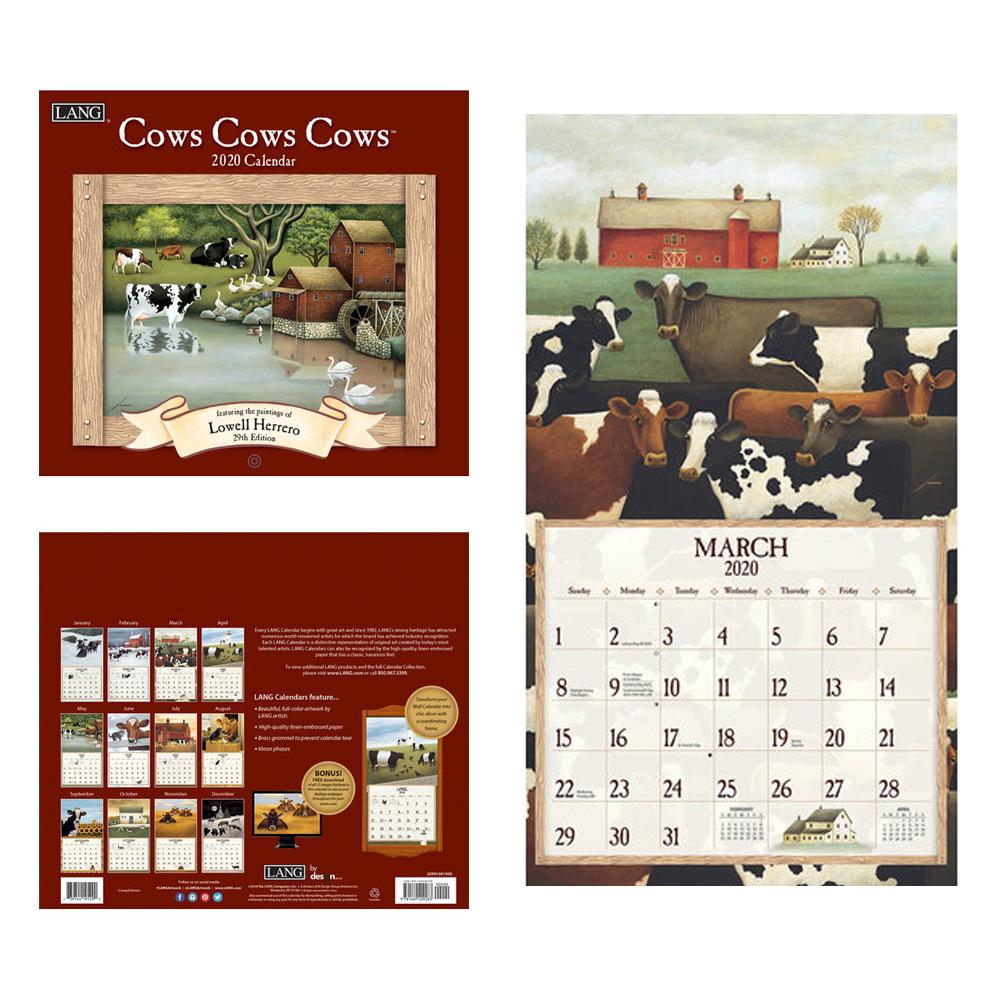 Kalender Cows Cows Cows