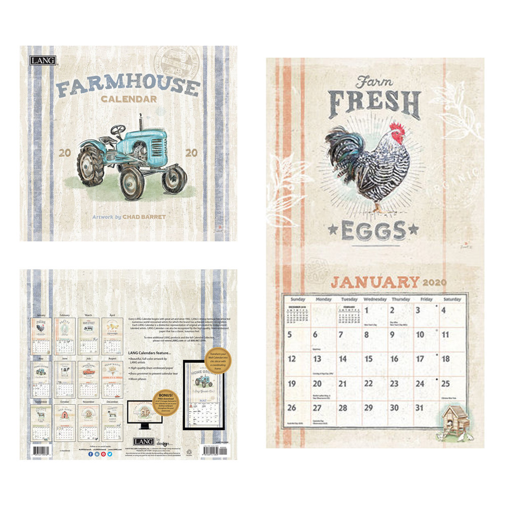 Kalender Farmhouse