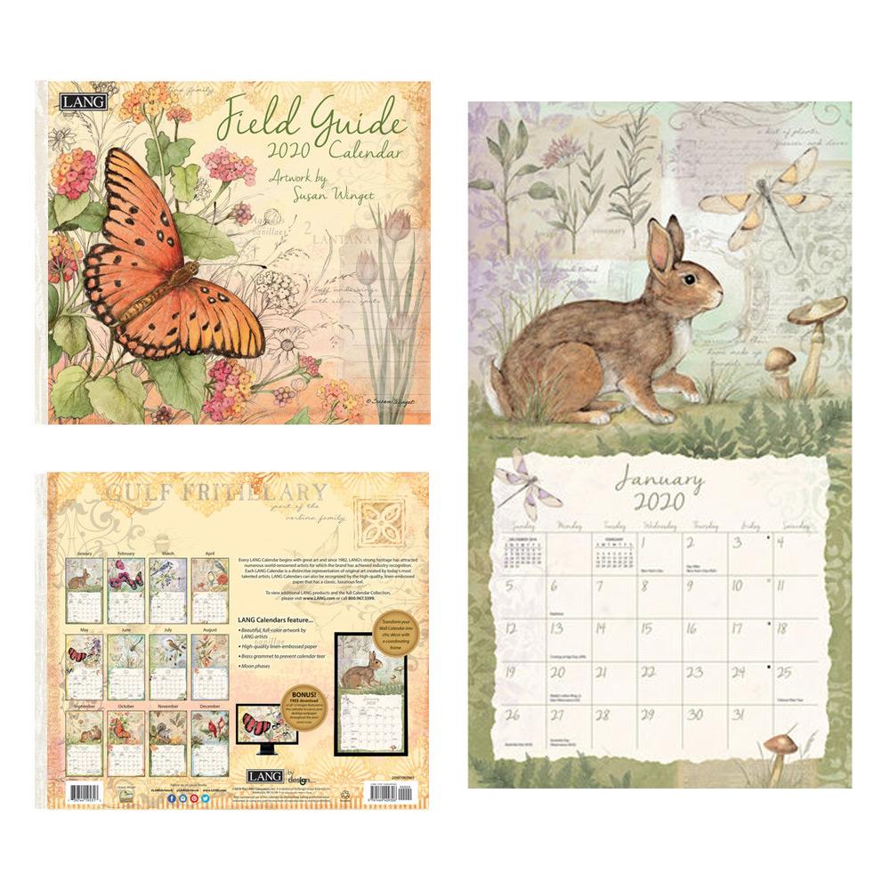 Kalender Field Guide
