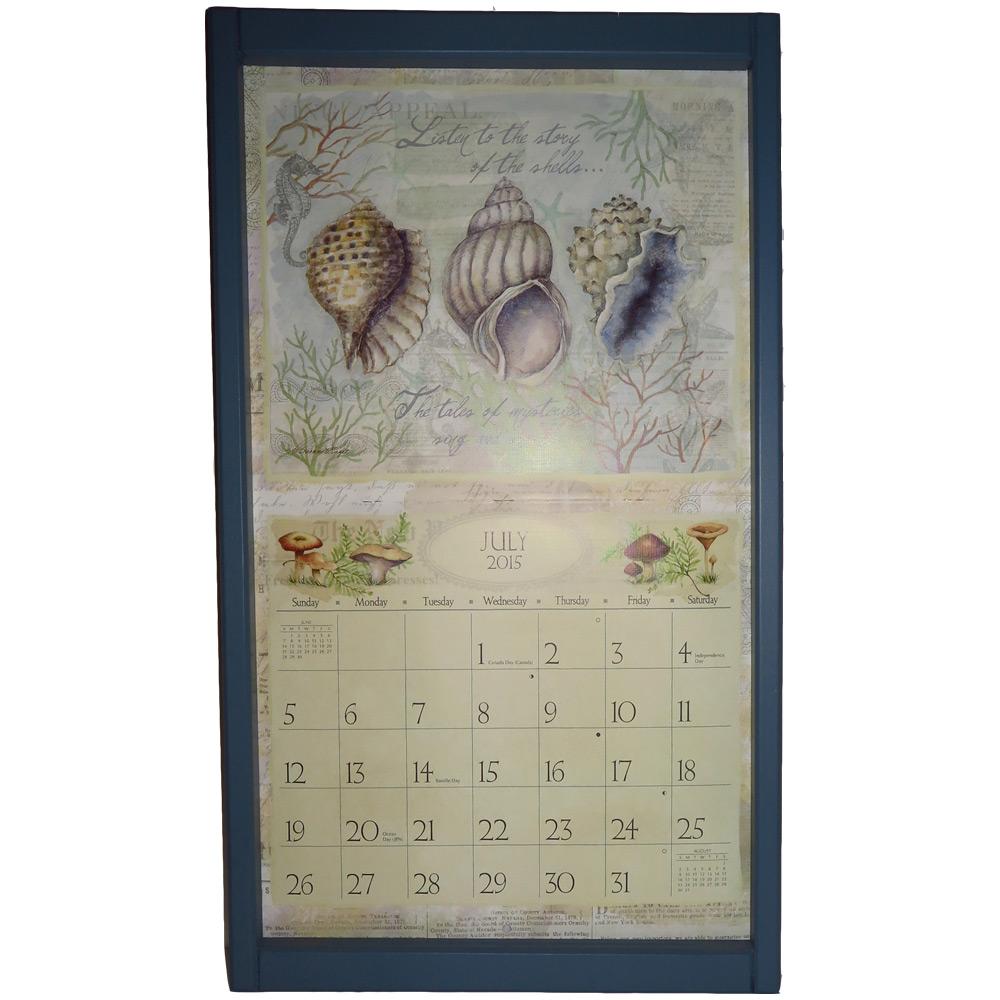 kalenderlijst groot grijs