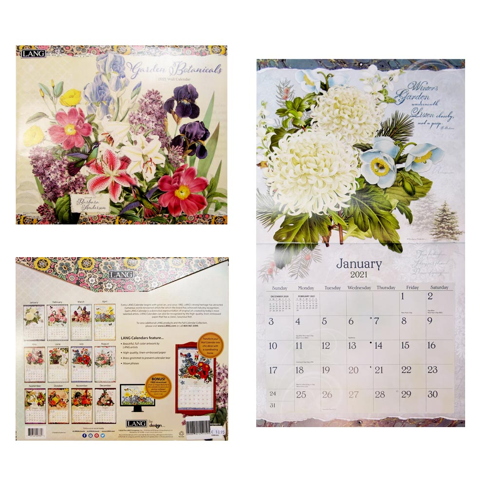 Kalender Garden Botanicals