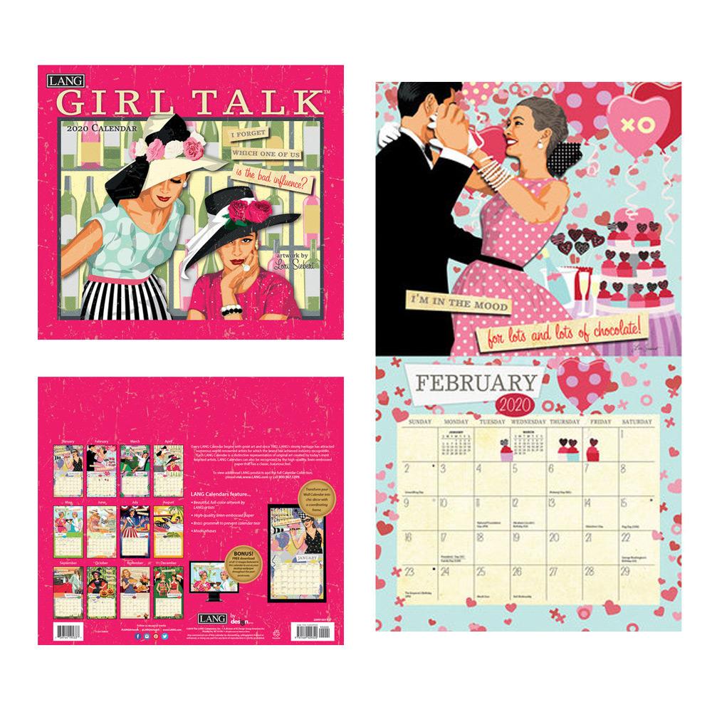 Kalender Girl Talk
