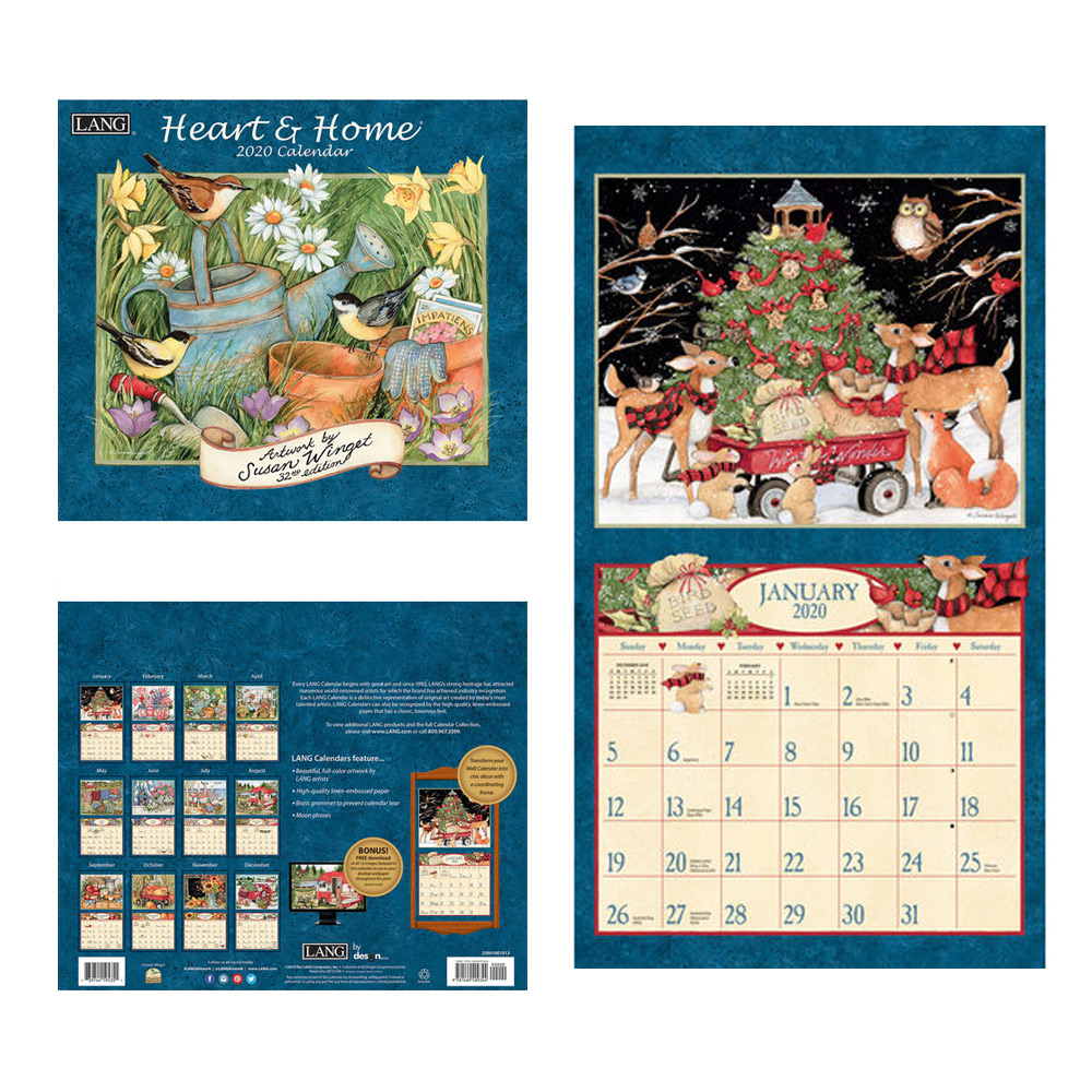 Kalender Heart & Home