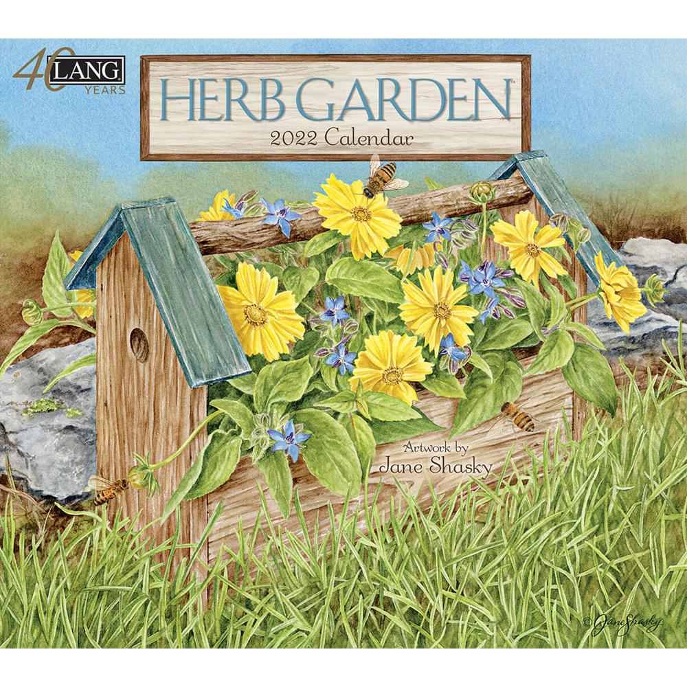 Kalender Herb Garden
