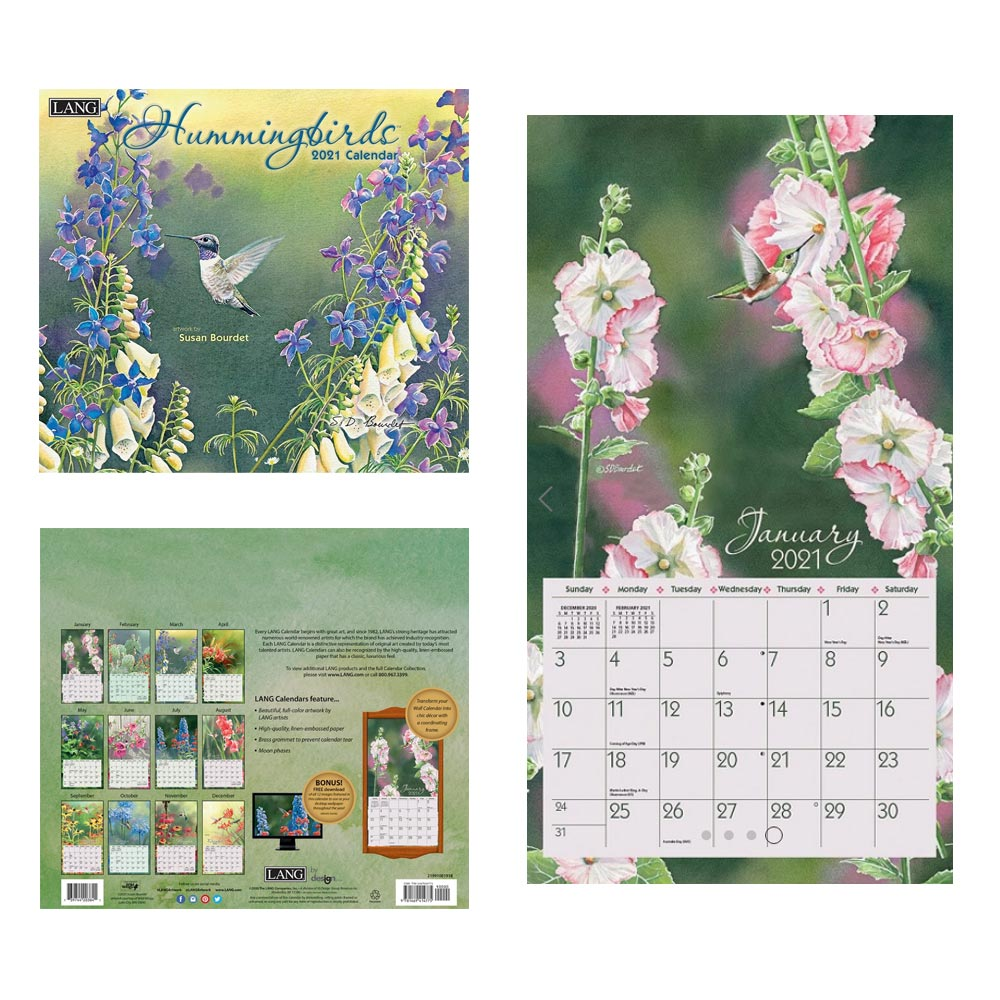 Kalender Hummingbirds