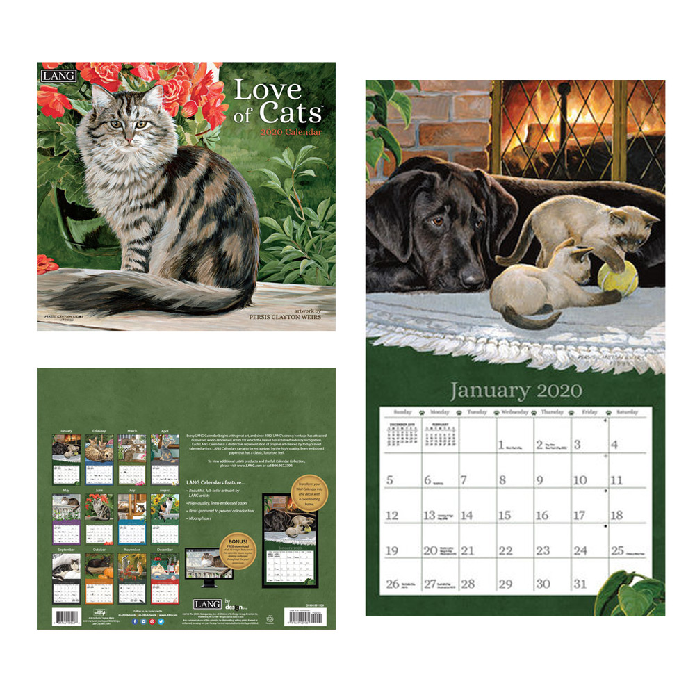 Kalender Love Of Cats