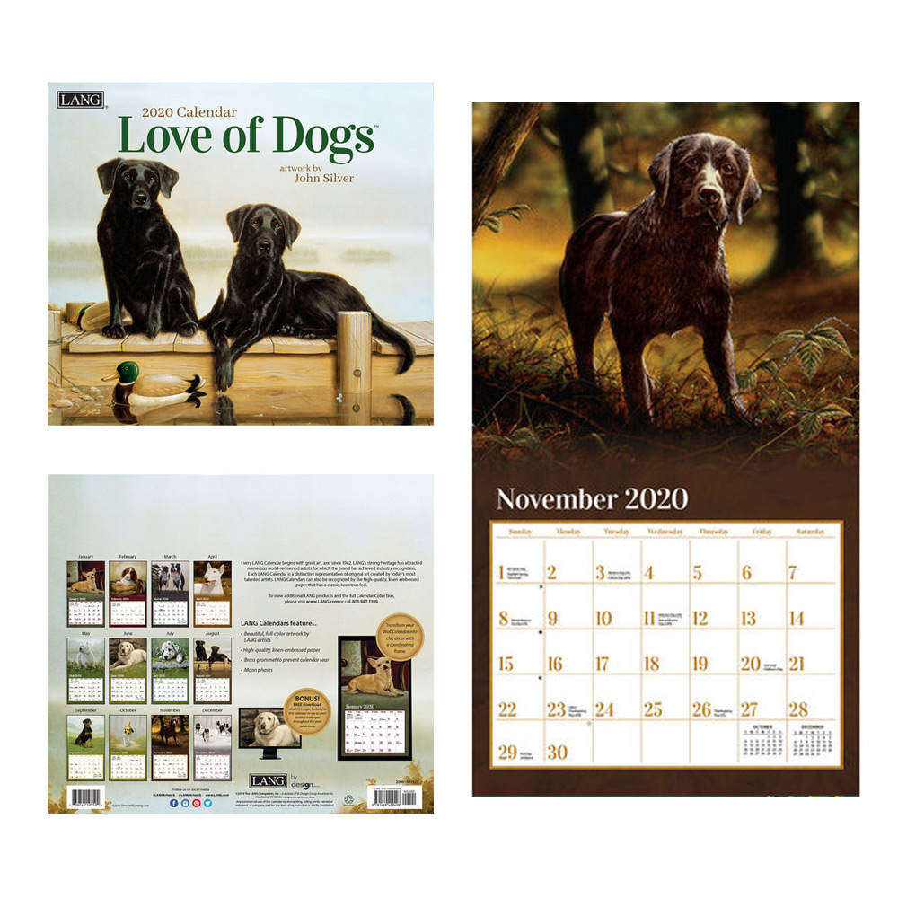 Kalender Love Of Dogs