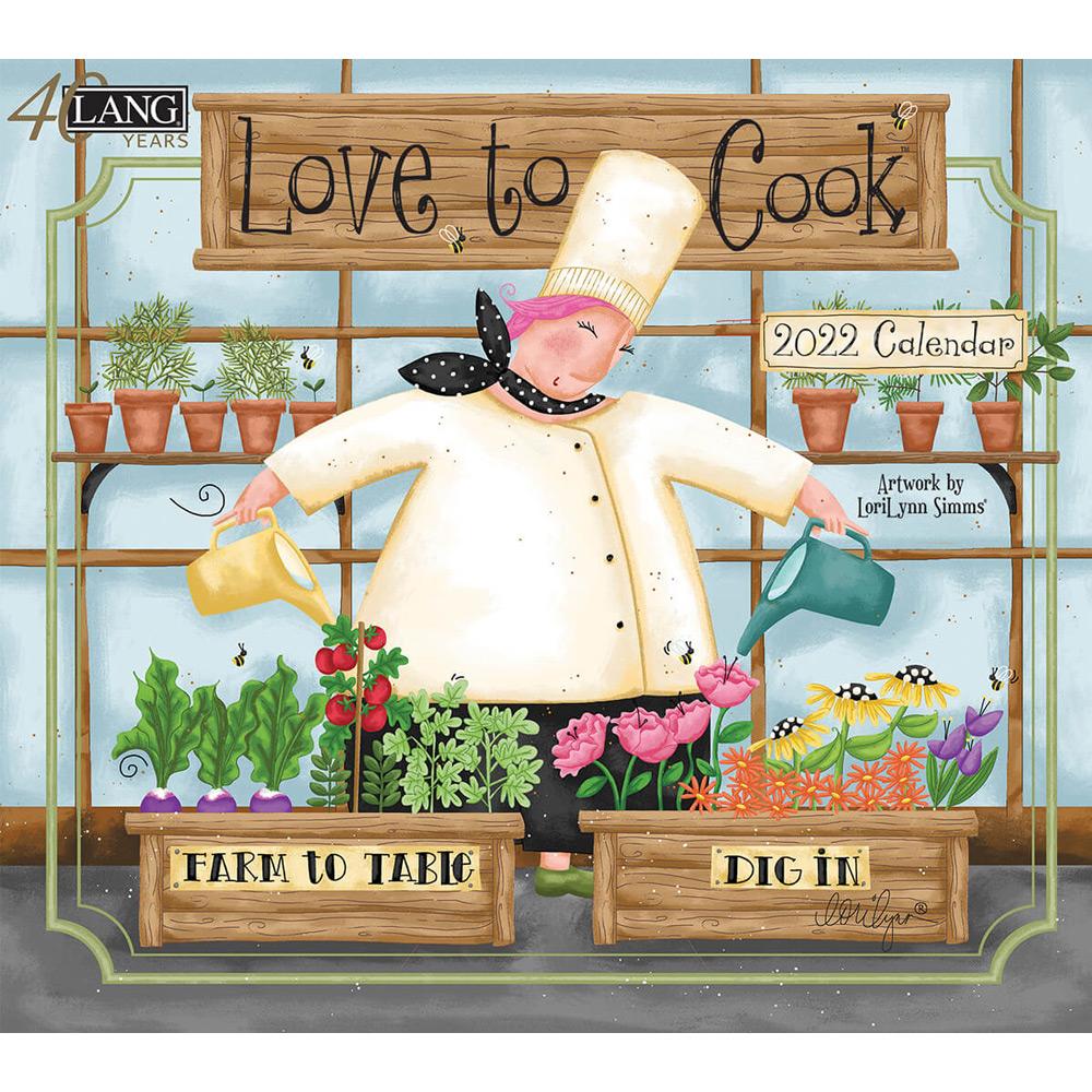 Kalender Love To Cook