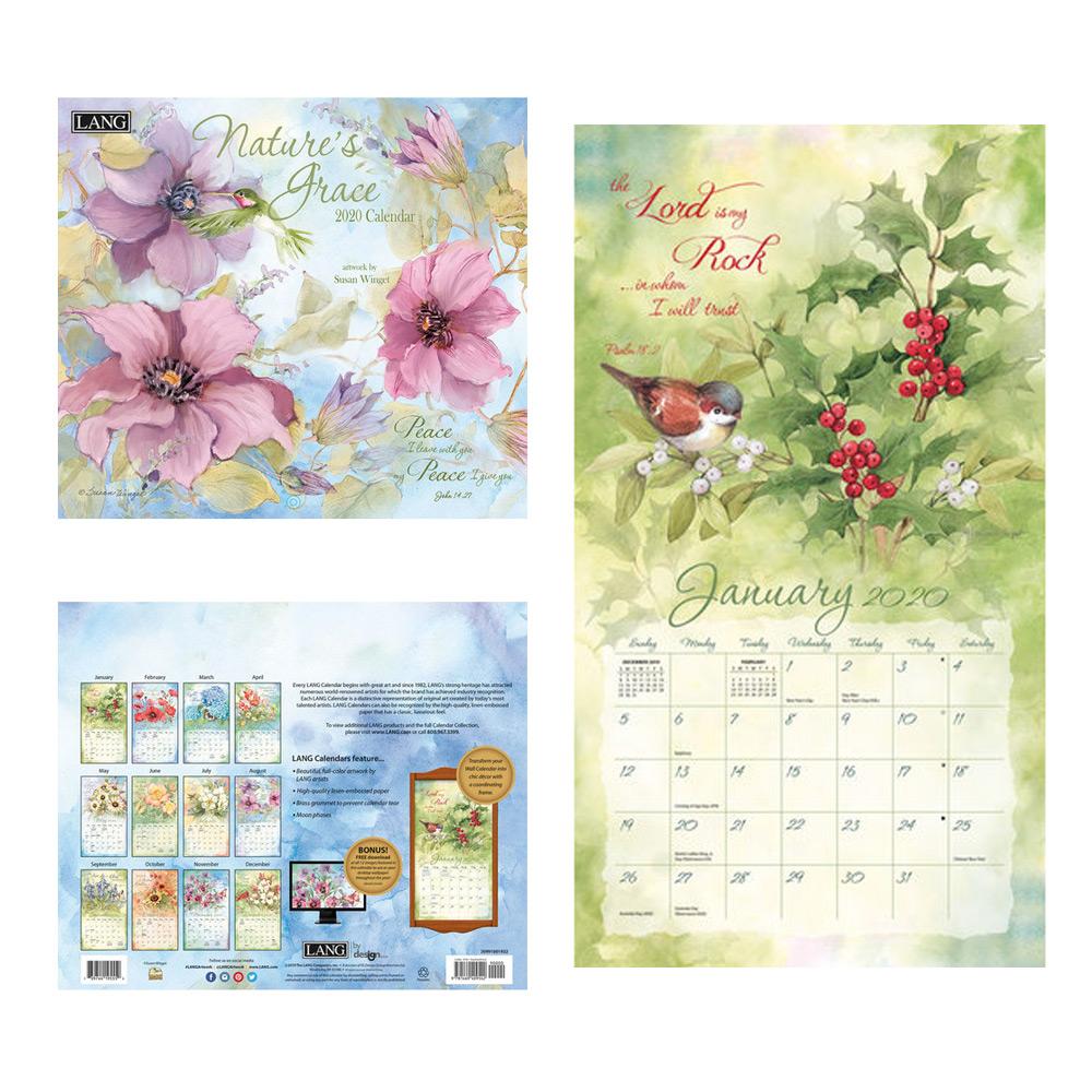 Kalender Nature's Grace